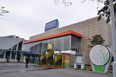 KTX散策: 光州松汀駅 / Gwangju...